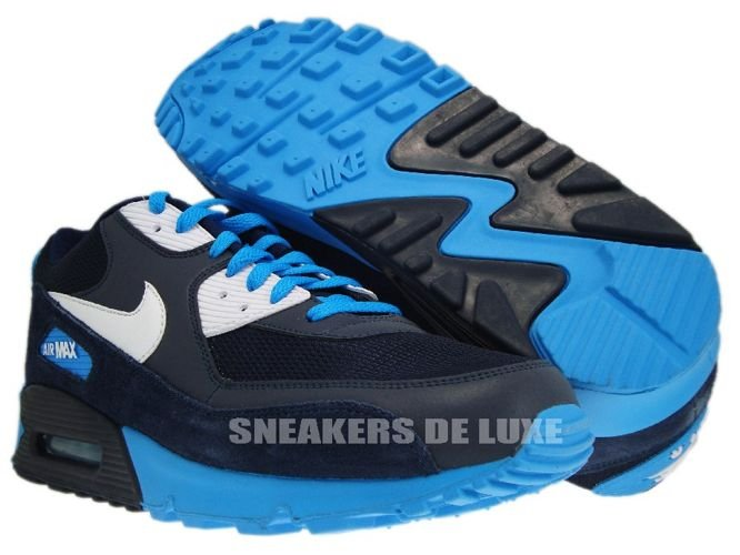 black and blue nike air max 90
