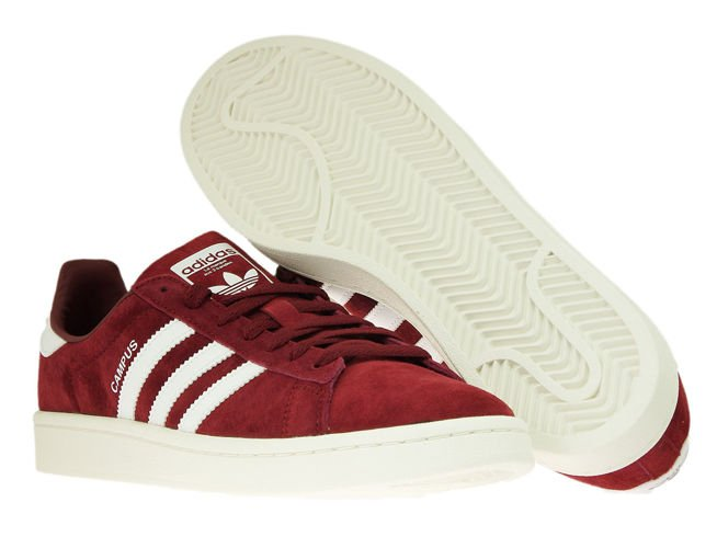 the best attitude 3ecf7 5d848 adidas Campus BZ0087 Collegiate BurgundyFtwr WhiteChalk White