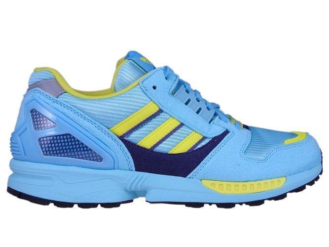 Details zu adidas ZX 8000 EG8784 Clear AquaLight AquaShock Yellow