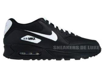finest selection b514c dc6c9 English  Nike Air Max 90 Black White 309299-034 309299-034 Nike   mens