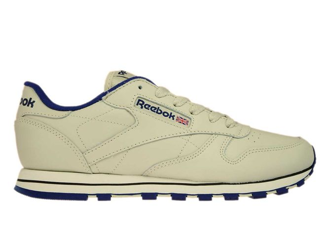 2c7de3ed469f3 English  28413 Reebok Classic Leather Ecru Navy 28413 Reebok ...