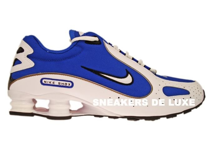 official photos ff4a3 c2431 309502-400 Nike Shox Monster SL Varsity Royal/White-Black