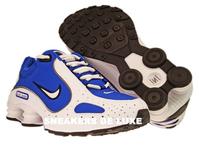 san francisco ef5d6 5bea7 ... 309502-400 Nike Shox Monster SL Varsity Royal White-Black ...
