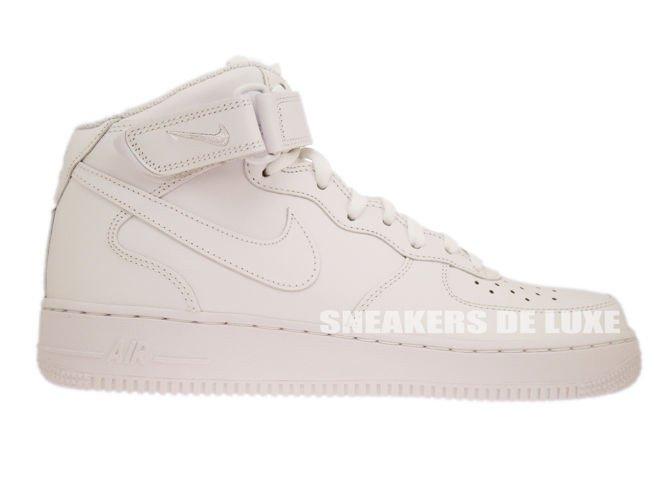 4cc6b05078f2 English  315123-111 Nike Air Force 1 MID  07 White White 315123-111 ...
