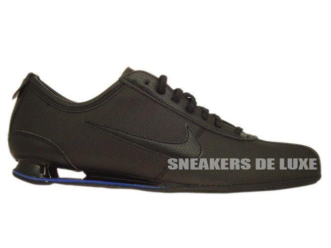 best service 87280 ff4fd 316317-045 Nike Shox Rivalry Black Hyper Blue ...