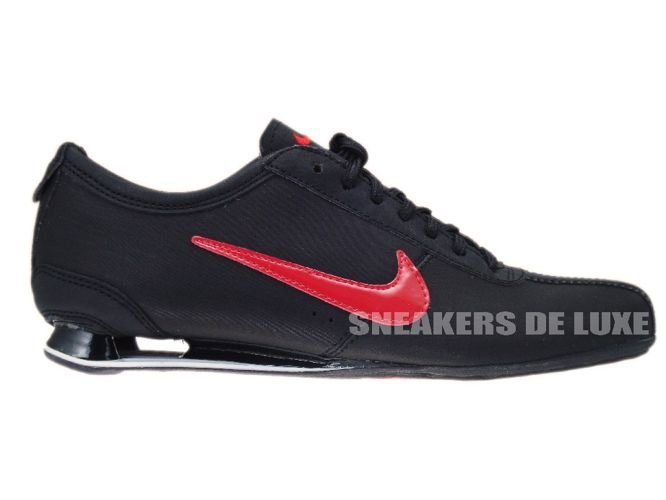 hot sale online 927d4 f45a0 316800-060 Nike Shox Rivalry Black Challenge Red-Black ...