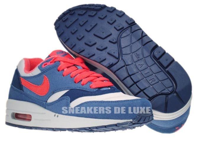 best authentic e3d99 007d0 ... 319986-022 Nike Air Max 1 Wolf Grey  Sunburst-Utility Blue-Light ...