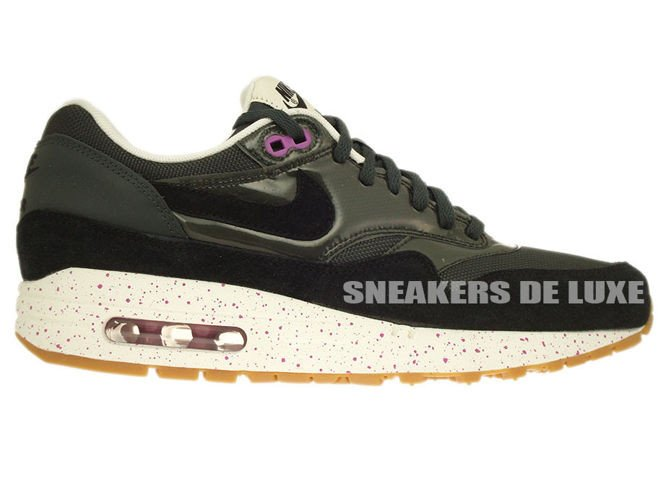 new style 3fc79 6b78b 319986-023 Nike Air Max 1 AnthraciteBlack-Club Pink-Sail ...