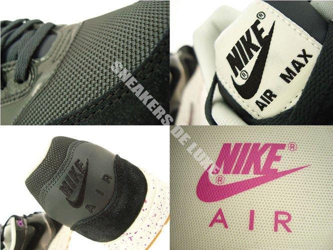 detailed look 541b6 52f11 ... 319986-023 Nike Air Max 1 Anthracite Black-Club Pink-Sail