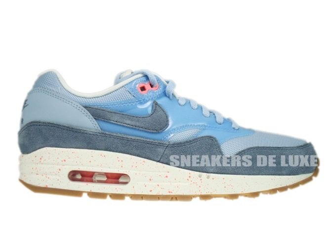 a5d57fba82 319986-402 Nike Air Max 1 Light Armory Blue/Armory Slate-Atomic Pink ...