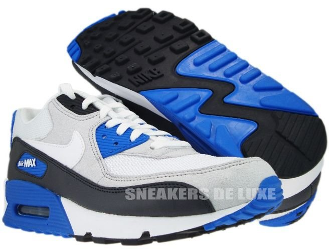 finest selection a621e 27229 sneakers: 325018-050 Nike Air Max 90 Anthracite/White-Obsidian-Soar ...