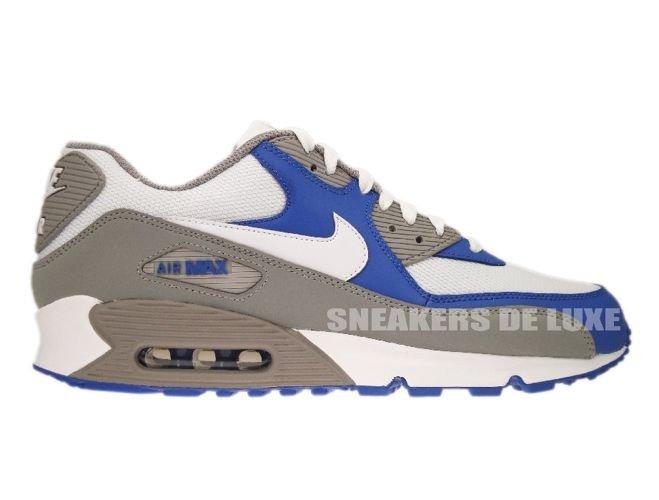 size 40 a37bf dd9df 325018-054 Nike Air Max 90 Medium GreyWhite-Varsity Royal ...