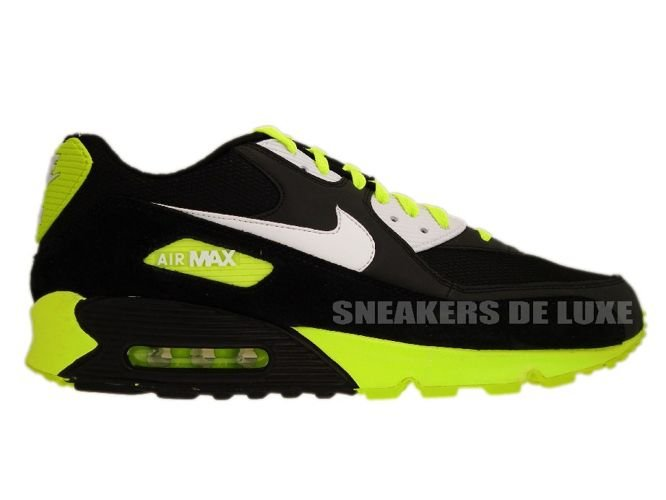 promo code 236f3 fea50 sneakers: 325018-099 Nike Air Max 90 Black/White-Volt 325018-099