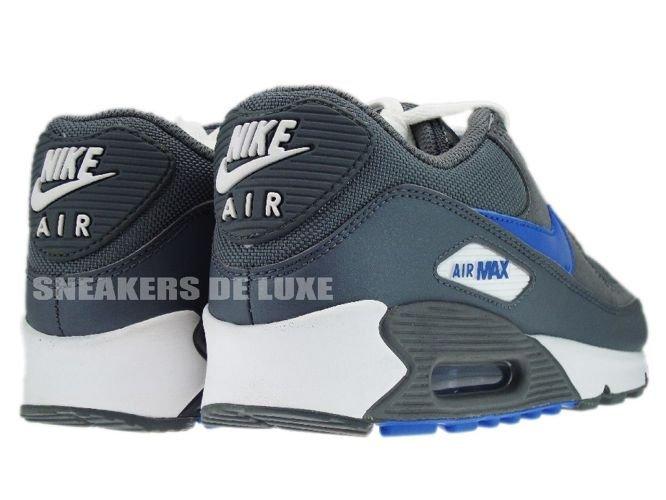 6e5b3c1d13 English: 325213-007 Nike Air Max 90 Cool Grey/Varsity Royal 325213 ...