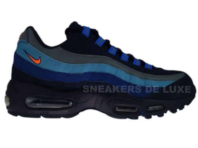 329393-400 Nike Air Max 95 SI Obsidian/Total Orange-Meteor Blue- ...