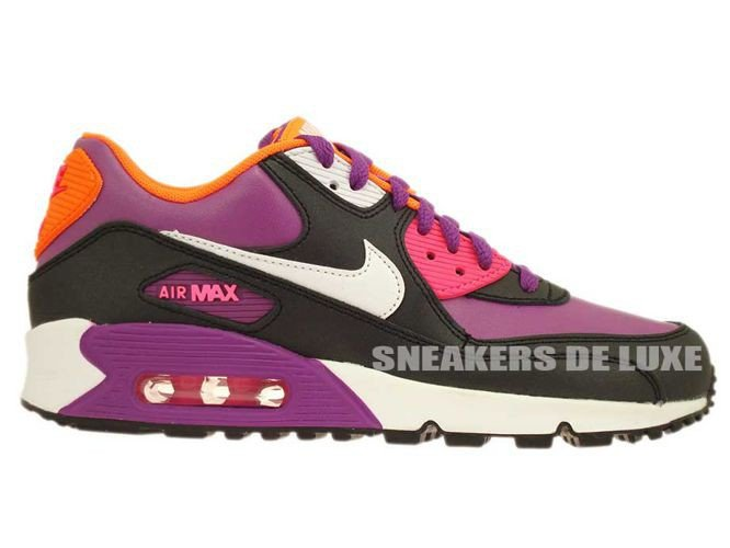 0e92ad040d39 English  345017-504 Nike Air Max 90 Bold Berry  White-Pink Pow-Black ...