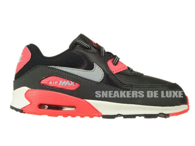 408110 080 Nike Air Max 90 TD BlackWolf Grey Atomic Red