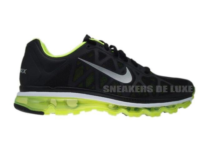 online store 711e9 00b1d 429889-007 Nike Air Max 2011+ Black Metallic Cool Grey-Volt ...