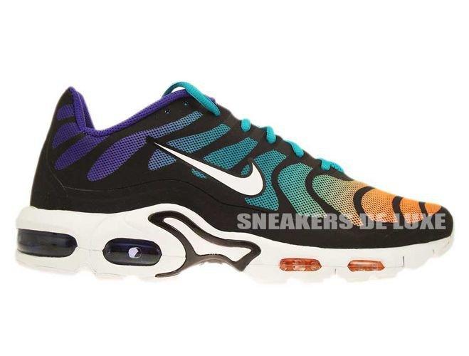 official photos 0121d ca606 483553-310 Nike Air Max Plus TN Fuse Turbo Green White-Black ...