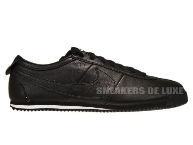 buy online 9d692 07fbd 487777-010 Nike Cortez Classic OG Leather Black/Black-White