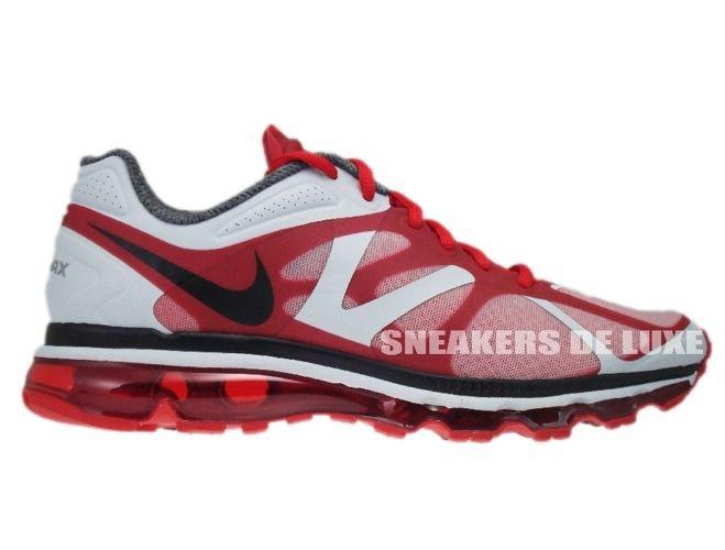 sports shoes 4c3f2 1d21f 487982-600 Nike Air Max+ 2012 University Red Black Metallic Silver ...