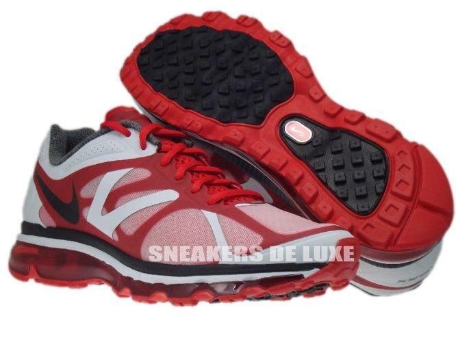 official photos 16d45 b96db ... 487982-600 Nike Air Max+ 2012 University Red Black Metallic Silver ...