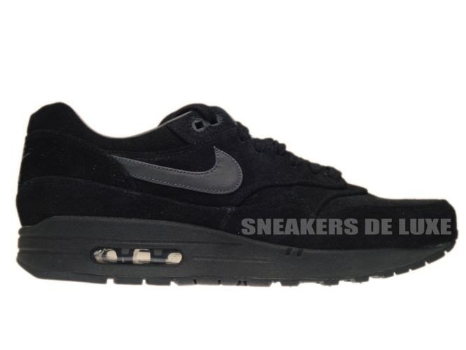finest selection 50a28 12875 512033-011 Nike Air Max 1 Premium Black Anthracite-Anthracite 512033-011 ...