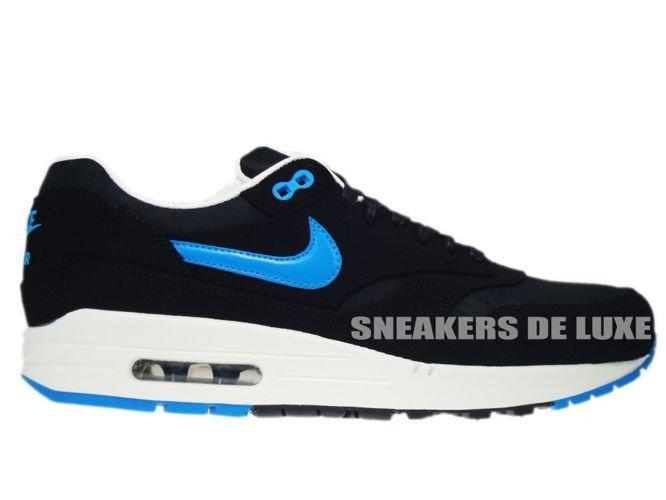 Nike Air Max 1 Premium Black Blue Hero Sail 512033 041