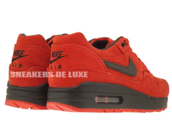 low priced 2234f 3d8ab ... 512033-610 Nike Air Max 1 Premium Pimento Black-Black ...