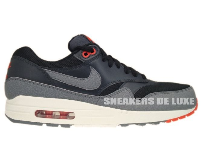 798c850e48c 537383-008 Nike Air Max 1 Essential Black Cool Grey-Anthracite-Team ...