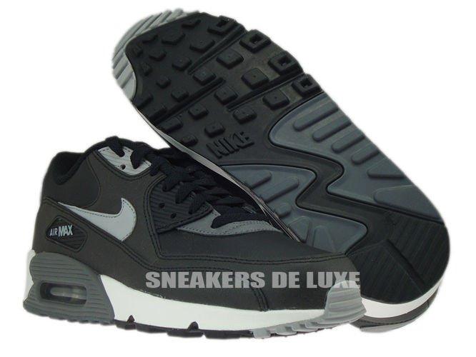 purchase cheap 98d96 4d937 ... 537384-003 Nike Air Max 90 Essential Black Silver-Dark Grey-Black ...