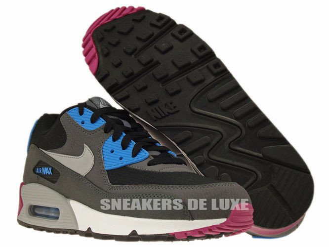 newest 7a5dd 33754 ... 537384-009 Nike Air Max 90 Essential Black Wolf Grey-Anthracite-White  ...