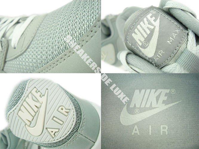 97c6cbf6d6 ... 537384-028 Nike Air Max 90 Essential Base Grey/Light Base Grey-Sail