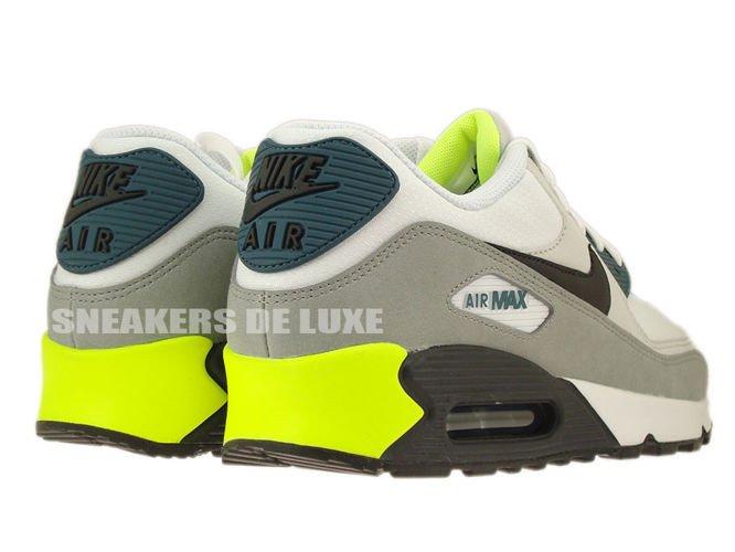meet release info on temperament shoes 537384-105 Nike Air Max 90 Essential White/ Black Prune ...