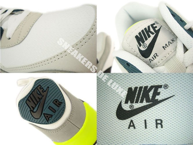... 537384-105 Nike Air Max 90 Essential White/ Black Prune-Light Base Grey