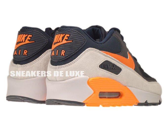 uk availability 723d4 d9de6 ... 542452-480 Nike Air Max 90 Premium Reflect Dark ObsidianTotal Orange-Neutral  ...
