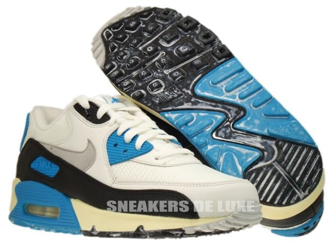 competitive price 4052b 73ecd ... 543361-104 Nike Air Max 90 OG Sail Neutral Grey-Laser Blue- ...