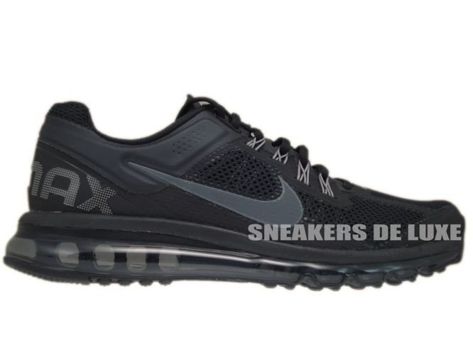 554886 001 Nike Air Max+ 2013 BlackDark Grey