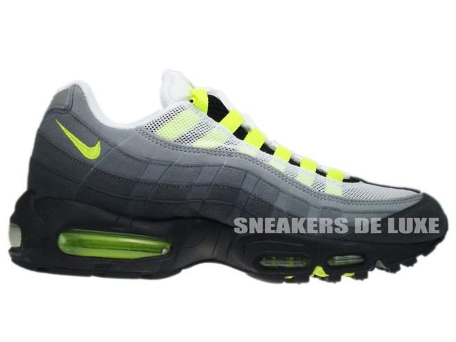146e4b82f33 554970-174 Nike Air Max 95 OG White Neon Yellow-Black-Anthracite ...
