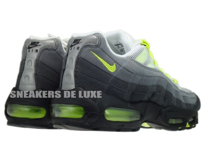 a9ddaa691a ... 554970-174 Nike Air Max 95 OG White/Neon Yellow-Black-Anthracite ...