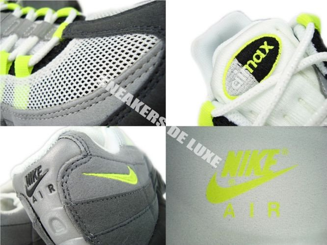 92e21f42a7 ... 554970-174 Nike Air Max 95 OG White/Neon Yellow-Black-Anthracite