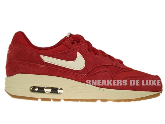nike air max 1 gym red sail