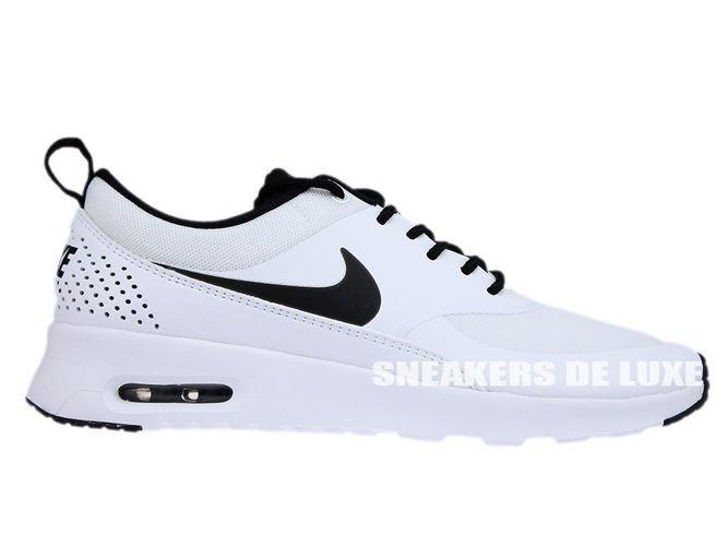 the best attitude 5639c 59d85 599409-102 Nike Air Max Thea White Black-White ...