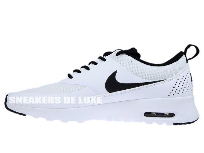 huge discount dc46b 87068 ... 599409-102 Nike Air Max Thea White Black-White ...