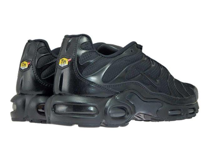 outlet store 002cc ff975 ... 604133-050 Nike Air Max Plus TN 1 Black Black-Black