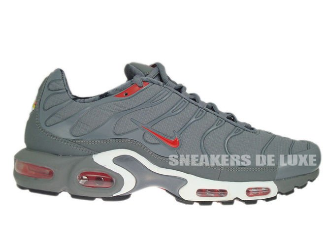 hot sale online 9dac6 03e39 604133-080 Nike Air Max Plus TN 1 Cool Grey/Challenge Red-Black