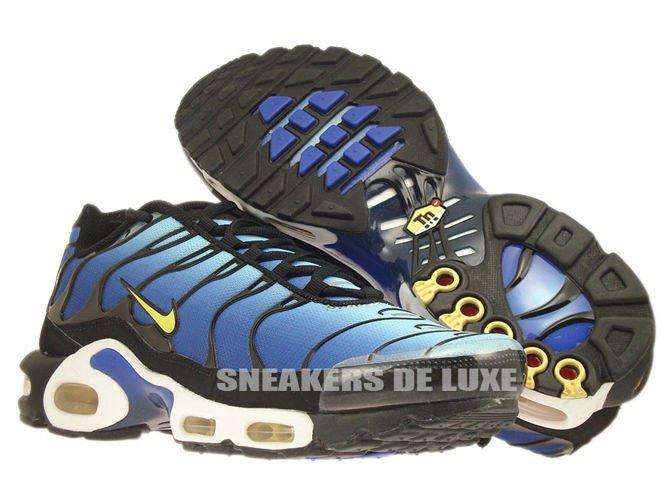 648db888f4 sneakers: 604133-475 Nike Air Max Plus TN 1 Hyper Blue/Chamois-Black ...