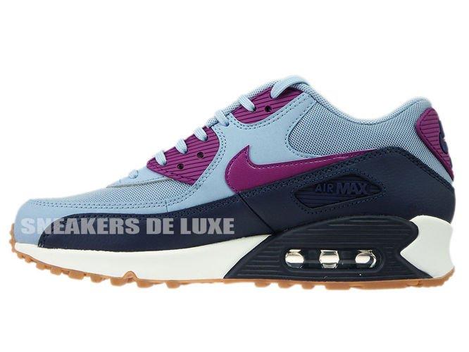huge discount 0b824 9116f ... 616730-403 Nike Air Max 90 Blue Grey Bright Grape ...