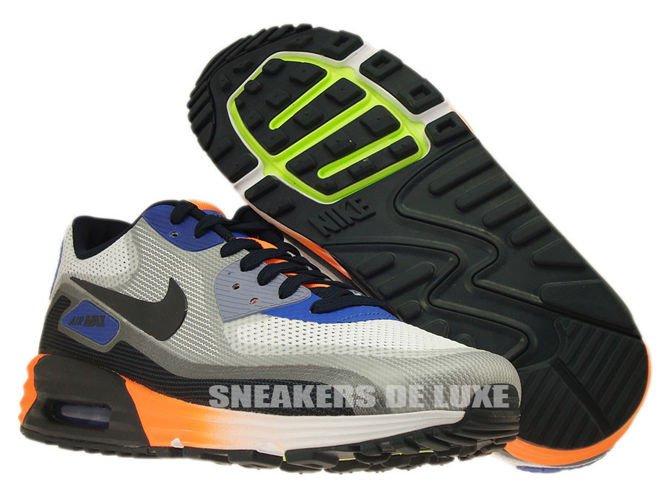 buy online 69b3c b2f7e ... 631744-104 Nike Air Max Lunar 90 C3.0 White Dark Obsidian- ...