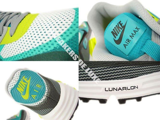 English  636229-103 Nike Air Max Lunar 90 C3.0 White Black-Turbo ... a01883c81